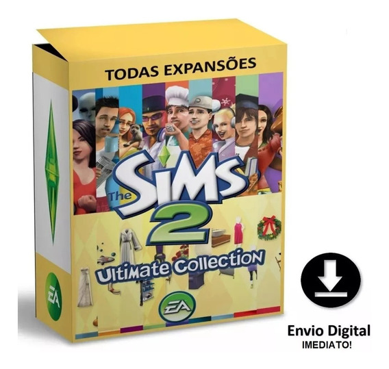 The Sims 2 - Todas As Expansões - Pc
