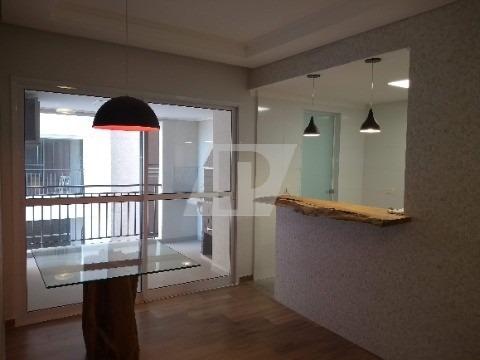 Apartamento Novo Com Lindo Acabamento! 3 Dormitórios Sendo 1 Suíte, 2 Salas, Varanda Gourmet, Cozinha Americana, Área De Serviço, 2 Vagas De Garagem. - Ap01310 - 32719553