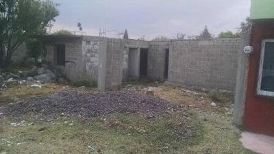 Terreno Con Construcción En Obra Gris En Venta