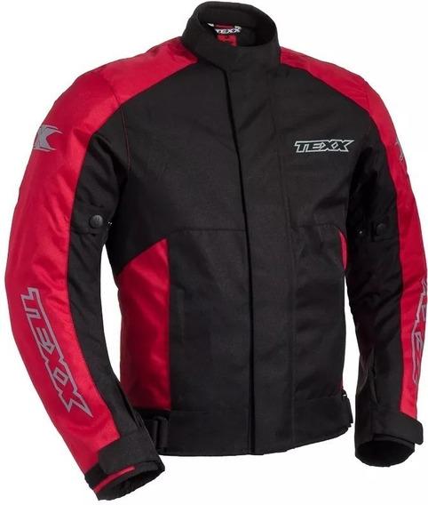 Jaqueta Motoqueiro Texx Ronin Impermeavel Vermelha X11 Motocilcista Proteção Moto Texx Nota Fiscal Pronta Envio Full
