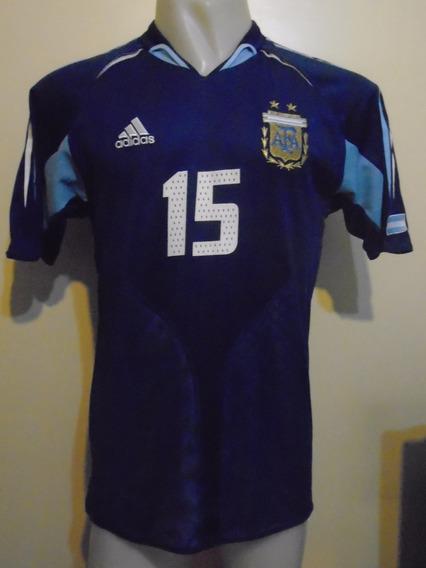 Camiseta Argentina J Olímpicos 2004 D