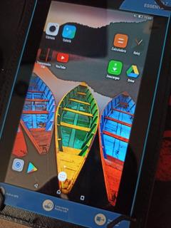 Tablet Lenovo 7 Con Funda Teclado