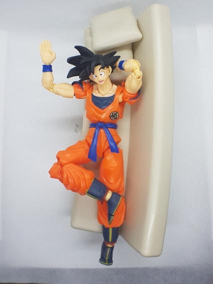 Boneco Goku Dragon Ball Z Sayajin / Ssj 3 Sh Figuarts Dbz