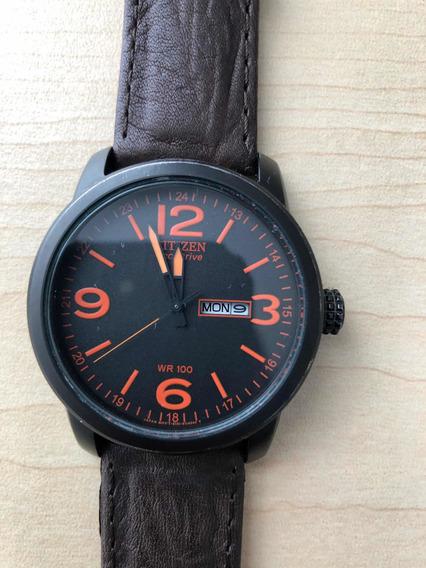 Reloj Citizen Eco-drive Acero Inoxidable Piel Bm8475-26e