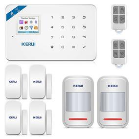 Kit Alarme Sem Fio Wi-fi Residencial Central Gsm App Celular