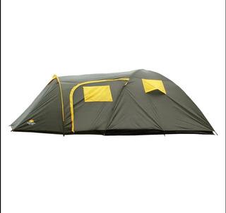 Barraca Camping Zeus 6p - Guepardo + Nf + Garantia