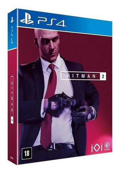 Hitman 2 Edição Limitada Ps4 Mídia Física Novo Lacrado