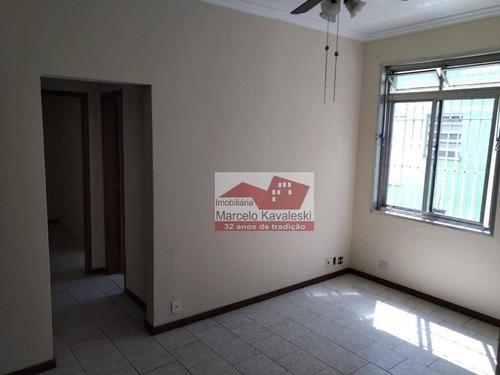 Apartamento Com 1 Dormitório Para Alugar, 55 M² Por R$ 1.130,00/mês - Ipiranga - São Paulo/sp - Ap6337