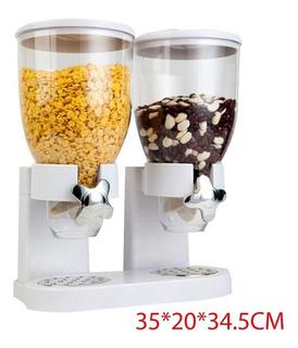 Dispensador De Cereales Doble Para Cocina
