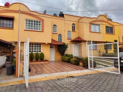 Nicolás Romero / Town Center: Casa Recién Remodelada En Condominio Horizontal.