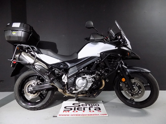 Suzuki Vstrom650 Abs Blanca 2014
