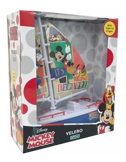 Juguete Velero Mickey Mouse Para Jugar En Agua Ditoys+cuotas