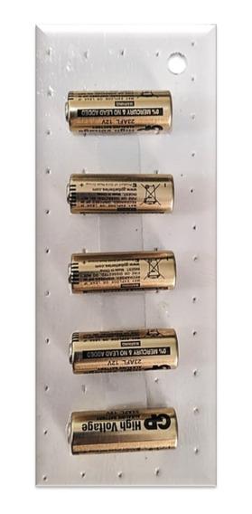 Cartela C/ 5 Mini Pilhas Alcalinas A23 12v Gp 23ae