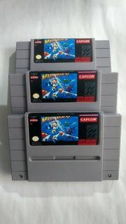 Mega Man X Snes Repro