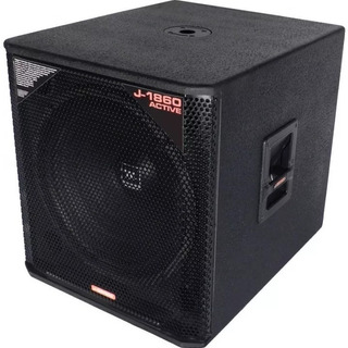 Subwoofer Jbl J-1860a Activo 18 1000w Profesional