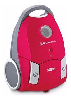 Aspiradora Ultracomb Con Bolsa As-4210 1600w 2.5 Lts Succion