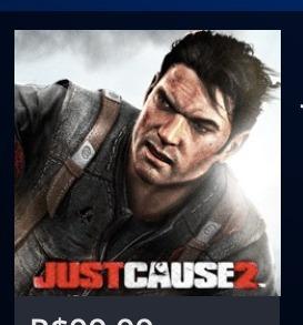 Just Cause 2 Ps3 Psn Midia Digital 8 Gb