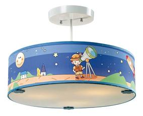 Pendente Taschibra Kids Space Azul H