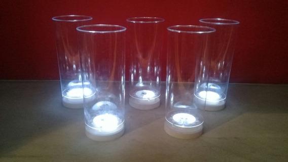 Vasos Led Luminosos X 10