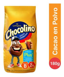 Cacao En Polvo Chocolino Fortificacion Plus La Virginia 180g