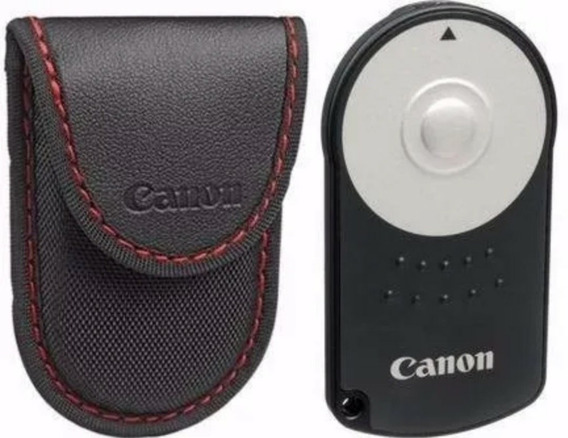 Controle Remoto Rc-6 P/ Canon Eos-m 5d 6d 7d 60d T5i T4i T3i
