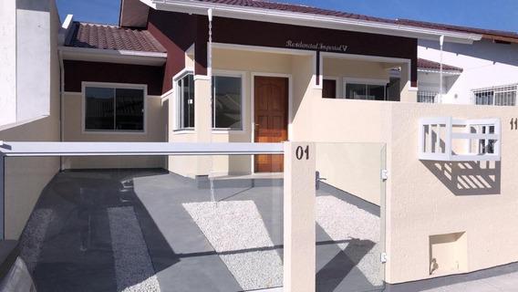 Minha Casa Minha Vida | Pronta Para Morar. 02 Quartos, Quintal E Churrasqueira - Lot. Vale Verde | Palhoça - Ca2196