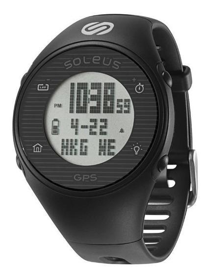 Relógio De Pulso Soleus Gps One - Preto