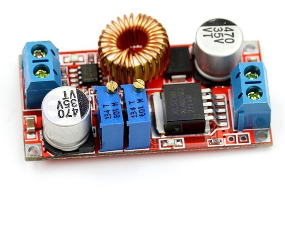 Regulador Tensão E Corrente Step-down Fonte Dc Gng Xl4015 5a