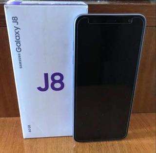 Celular J8 Sm-j810m 64gb 4gb Ram Leitor Biométrico