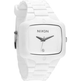 Relógio Nixon Rubber Player White Promoção!