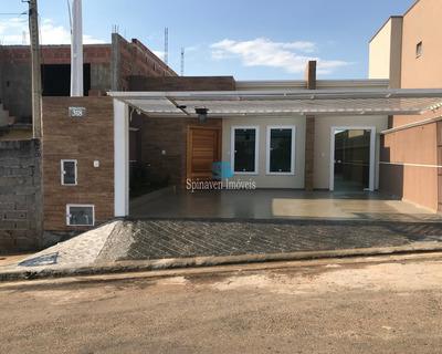 Casa Nova Em Atibaia - Ac Financiamento E Carro Como Parte De Pagamento - Ca01394 - 33304228