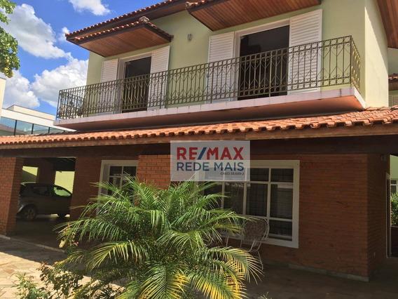 Casa Com 4 Dormitórios Para Alugar, 440 M² Por R$ 6.700/mês - Chácara Floresta - Botucatu/sp - Ca0001