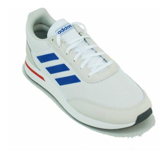 Zapatilla adidas Run 70s Beige/azul/rojo Hombre Deporfan