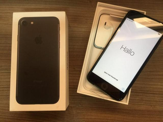 Apple iPhone 7 32 Gb Matte Black Bateria Nova (semi Novo)