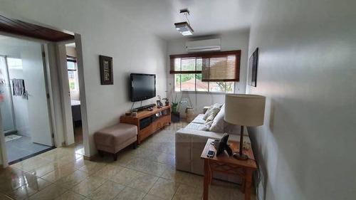 Apartamento Com 2 Dormitórios E 1 Vaga Coletiva, À Venda, 64 M², Por R$ 425.000,00 - Vila Belmiro - Santos/sp - Ap10601