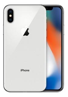 Celular iPhone X De 64gb Plata