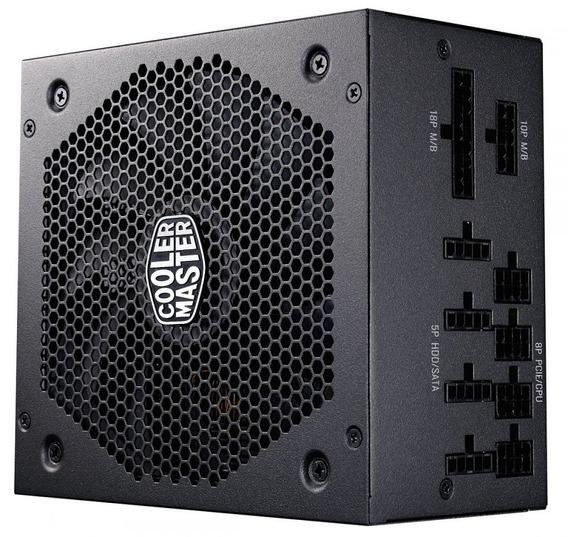 Fonte Atx V850 Full Modular 80 Plus Gold Cooler Master