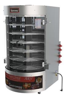 Frangueira E Assador Rotativo Vertical A Gás 110 Kg Arv-110
