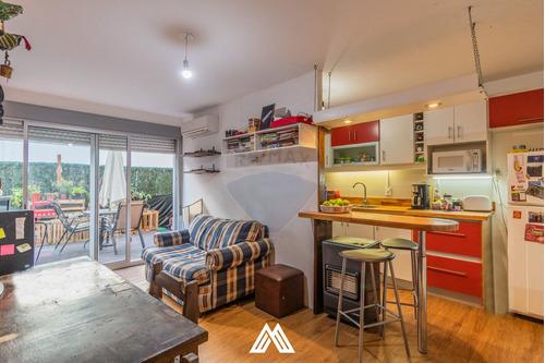 Apartamento 2 Dormitorios Patio Y Garaje Con Renta