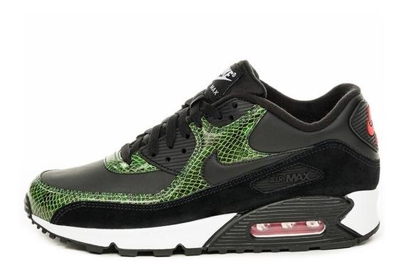 Nike Air Max 90 Qs Green Python 100% Original Cod 0001