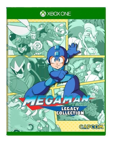 Mega Man Legacy Collection Xbox One Mídia Física