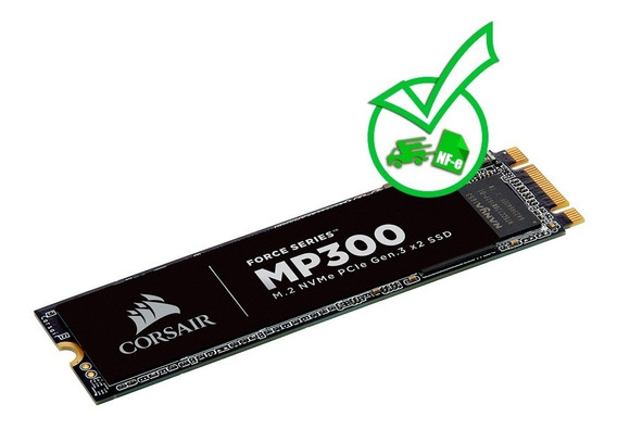 Ssd Corsair Nvme M.2 Mp300 - 240gb 1580mbs / 920mbs + Nf