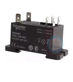 3 Reles Schneider Rpf2ap7 P/ Ar Condicionado 30a 230vac 2na