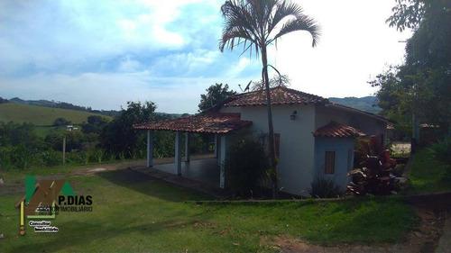 Chácara Simples Em Socorro, Circuito Das Àguas. - Ch0200