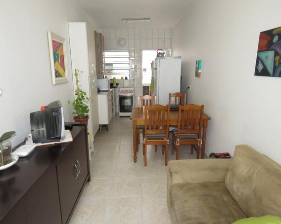 Casa Em Condomínio Com 1 Dormitório E 1 Vaga, Na Aviação - Praia Grande - R1a1382c - R1a1382c - 33129722