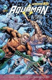 Hq - Aquaman - Morte De Um Rei - Panini