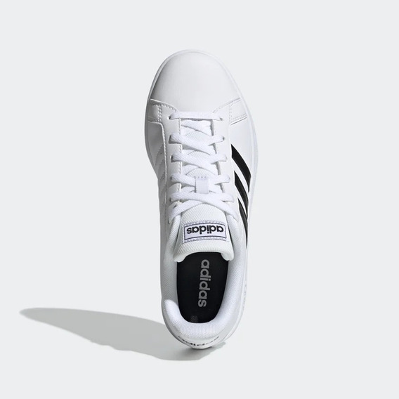 Tenis adidas 03/2020 Grand Court W Ee7968 Bco/preto