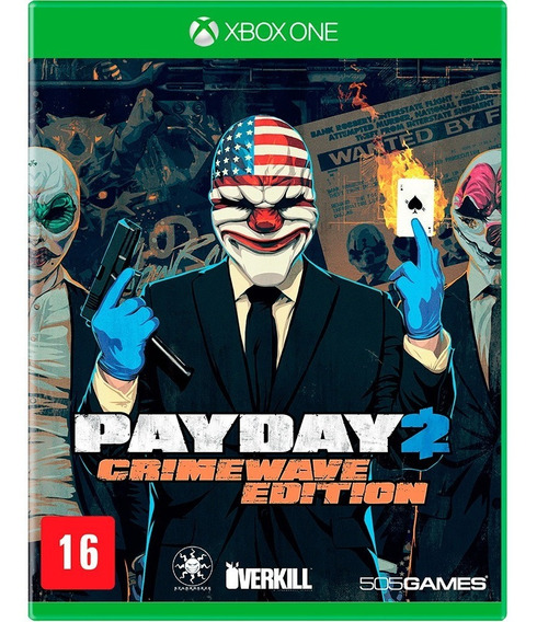 Game - Pay Day 2 Crimewave Edition - Xbox One