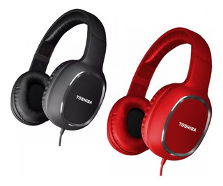 Auriculares Toshiba Con Cable Headphones Over Ear Rze-d160h