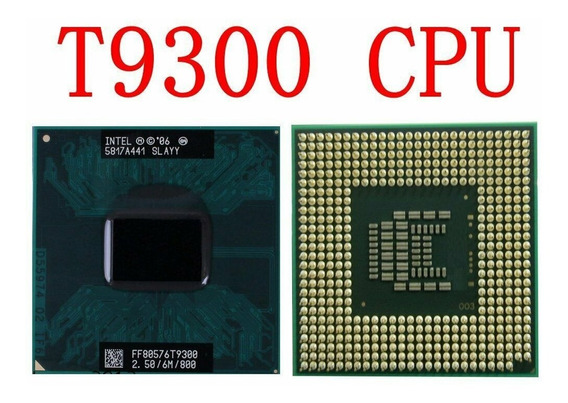 Intel Core 2 Duo T9300 2.5ghz Notebook